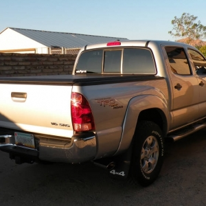 2008 Toyota Tacoma TRD Double Cab Silver