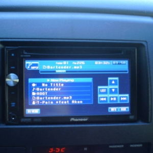 Pioneer CD/DVD Deck