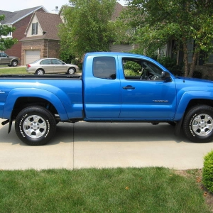 2008 Tacoma Access Cab speedway blue