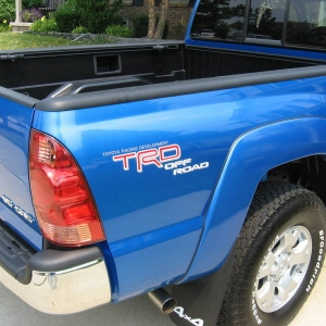 tacoma access cab speedway blue