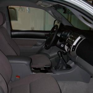 Regular cab SR5 interior