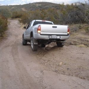 3 wheeling my tacoma
