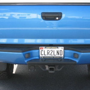 My New MD Plates
