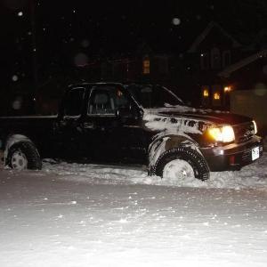 Snowy taco