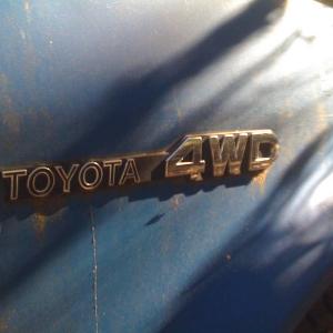 4WD Badge