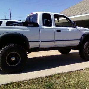 side shot of my truck