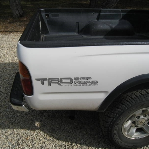 2000 Toyota Tacoma 4X4 TRD V6