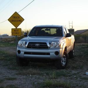 Truck crossing