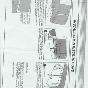 Saddleman Neoprene Seat Cover Install