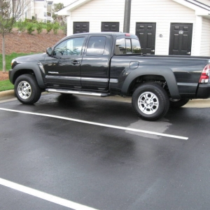 New 09 Tacoma before and after