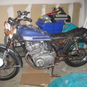 Dead Yamaha Bike