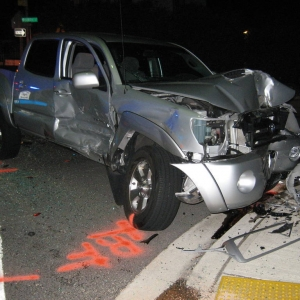2007 TRD Sport accident