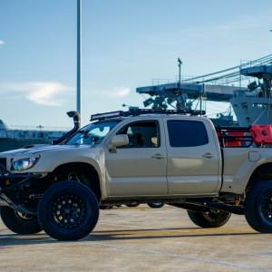 @ the USS Hornet