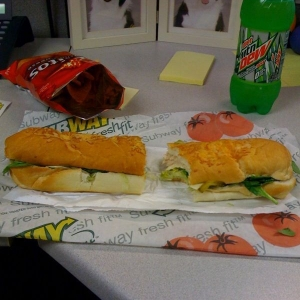 Mmm... Subway...