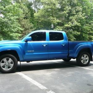 2009 Speedway Blue