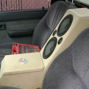 center console/speaker box