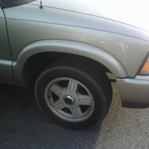 Camero wheels on a Gmc pick up