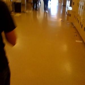 Woohoo! School looks like shit! Thanks seniors!