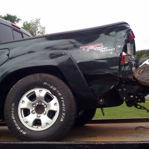 PICTURES OF MY WRECKED 2009 TRD OFF ROAD TACOMA