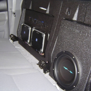 09 Double Cab Complete Audio Makeover
