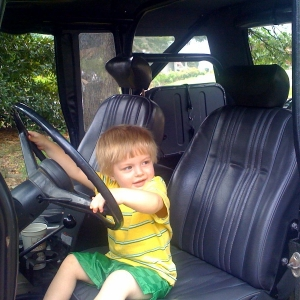 DYLAN AND ROBS LANDCRUISER