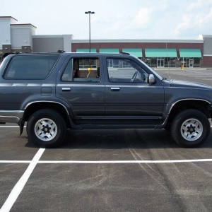 4Runner with 235/75/15 tires