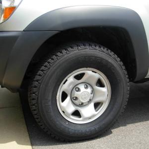 Regular Cab Tacoma 265/75/16 Tires