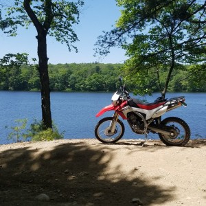 Crf250l trail ride