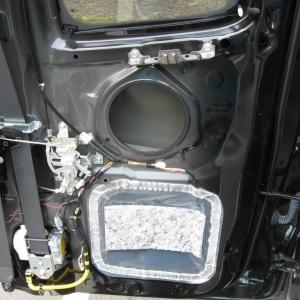2009 Access Cab Rear Door Speakers