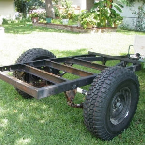 M416 military trailer-offroad/camping trailer