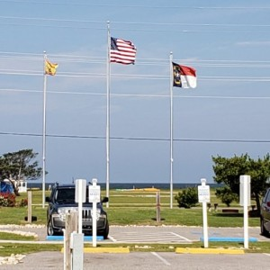 Happy flag day from Cape Hatteras!