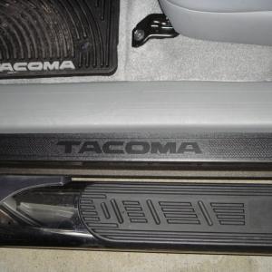 Tacoma Door Sill Protectors