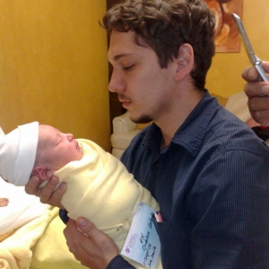 My first son!
