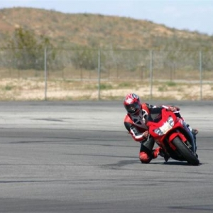 Me at Willow Springs race track