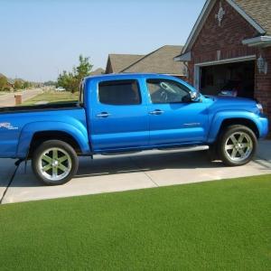 Blue 06 Tacoma TRD