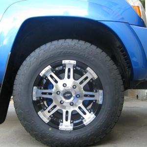 Blue Brake Caliper