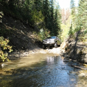 Shrine Pass River Crossing