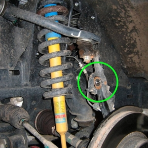 Front Shock Replacement