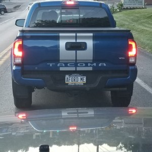 The plate confuses me...