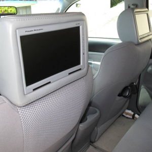 2008 Toyota Tacoma, Power Acoustic 7 inch Screens