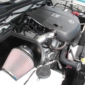 08 Tacoma Quad Cab Long Bed & K&N 77 Series Cold Air Intake