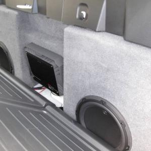 08 Tacoma Quad Cab Long Bed & Super Crew Sounds Subwoofer Enclosure