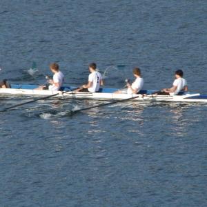 Rowing on Horsetooth