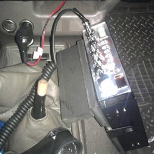 CB radio mount