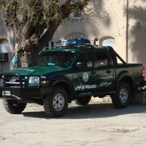 Ford Ranger In Afghanistan