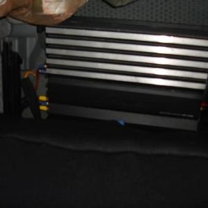 Pioneer single channel 600 watt amp