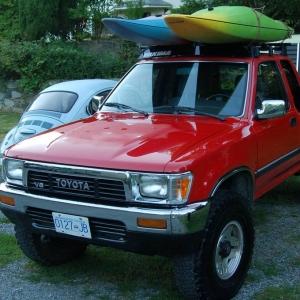 "1991 Pick up 2"" Lift in rear (leaf spring)  '74 Fiberglass Trillium tr"