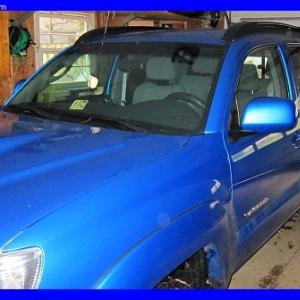 SPEEDWAY BLUE  -  In the Garage