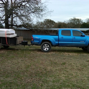 My truck with my trailer