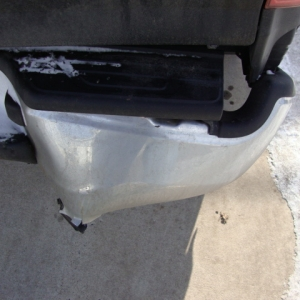 I broke my bumper